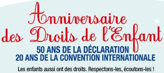 La Convention Internationale des Droits de l'Enfant fête ses 25 ans