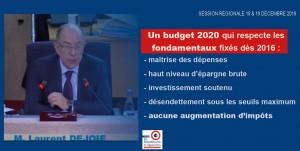 BUDGET PRIMITIF 2020 A LA REGION PAYS DE LA LOIRE