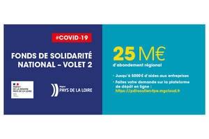Pendant la crise du Coronavirus, la Région Pays de la Loire sur le pont
